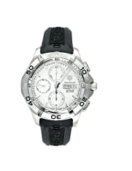 Cheap Price TAG Heuer Men's CAF2011.FT8011 Aquaracer Automatic Chronograph Rubber Strap Watch USA Sale
