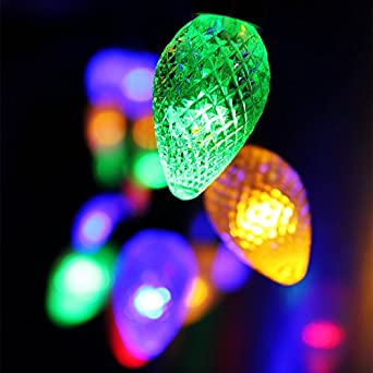 String Lights Not Working : Amazon.com: Cone Battery Operated LED Christmas Lights - 2 Work Modes RGBY Christmas String ...