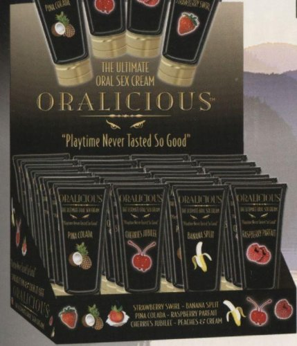 Display Oralicious Oral Sex Cream 24pc