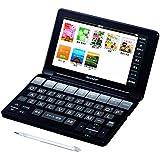 シャープ カラー電子辞書 ブラック系PW-SA1-B 大辞林、ジーニアス英和・和英含む100コンテンツ搭載