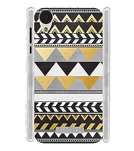 Pattern Tribal Art Brown Soft Silicon Rubberized Back Case Cover for Lava Iris X9 :: Lava Iris X9 4G