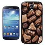 Delicious Chocolate Swirls Praline Fudge Hard Case Clip On Back Cover For Samsung Galaxy S4 i9500
