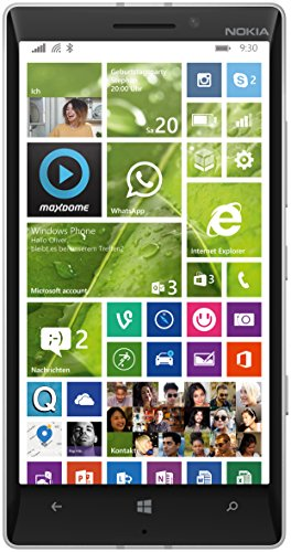 NOKIA LUMIA 930 RM-1045 32GB (WHITE) FACTORY UNLOCKED 4G LTE 3G 2G GSM SIMFREE RM 1045 [ 2G 850/900/1800/1900 | 3G 850/900/1900/2100 | 4G LTE 800/900/1800/2100/2600 ] - International Version No warranty (Windows Phone 930 compare prices)