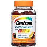 Centrum Adults MultiGummies Multivitamin/Multimineral Supplement (Natural Berry, Cherry, & Orange Flavor, 150-Count Gummies)