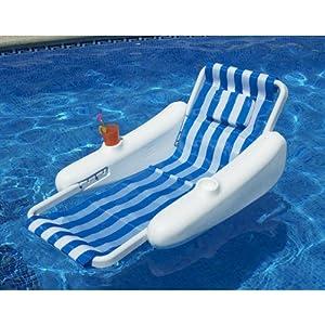 sunchaser sling floating swimming pool lounge. Black Bedroom Furniture Sets. Home Design Ideas