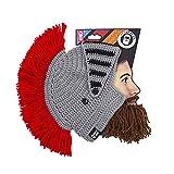 Beard Head® - The Original Barbarian Knight Knit Beard Hat (Brown)