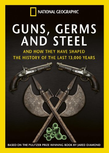 guns germs and steel essay The diseases, in turn, were caught from the european livestock thus, the history of the modern civilization and current balance of political forces are roote.