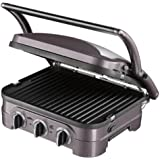 Cuisinart GR40E The Griddler: Plan de cuisson multifonctions Grill Plancha Barbecue Panini- 1600W