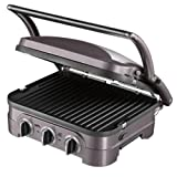 Cuisinart-GR40E-The-Griddler-Plan-de-cuisson-multifonctions-Grill-Plancha-Barbecue-Panini-1600W