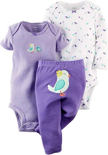 carters-baby-madchen-0-24-monate-bekleidungsset-gr-3-6-monate-violett