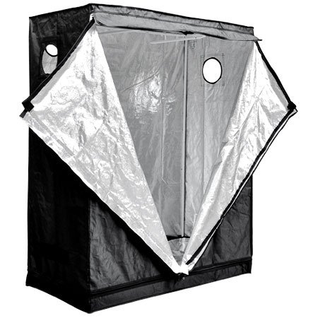 """Top Grade Reflective Interior 48"""" X 24"""" X 60"""" Inch In Hydroponics Plant Grass Flower Herb Dark Room Grow Tent Growing Area Tent Box"""
