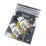 【Vonyoボニョ】T10 T16 ウェッジ 5630 6SMD LED 5W相当 ホワイト 白 2個セット ポジション スモール バックランプ などに