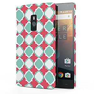 Koveru Designer Printed Protective Back Shell Case Cover for OnePlus 2 - Keymer Pattern