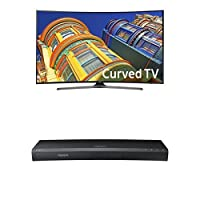 Samsung UN65KU6500 65-Inch TV with UBD-K8500 4K Blu-ray Player