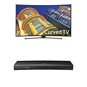 Samsung Curved 55-Inch 4K Ultra HD Smart LED TV1 by SAMF9