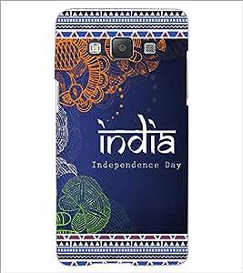 PrintDhaba India D-5697 Back Case Cover for SAMSUNG GALAXY E5 (Multi-Coloured)