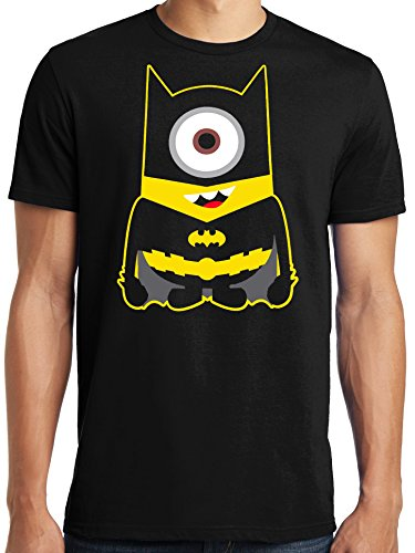 LiberTEES-Big-and-Tall-King-Size-Despicable-Me-Batman-Minion-Parody-T-Shirt