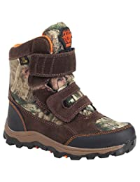 Rocky Boys' R.A.M. Waterproof Insulated Velcro Boot Round Toe