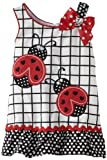 Youngland Baby-girls Infant Ladybug A-Line Dress