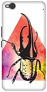 The Racoon Lean printed designer hard back mobile phone case cover for HTC One X9 (Beetle Jui)