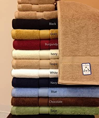 sheetsnthings Solid Chocolate Terry Bath sheet Towel 100% Egyptian Cotton 650 gsm at Sears.com