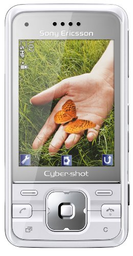 Sony Ericsson C903 Handy (5 MP, GPS, TV-Out, UKW Radio) techno white