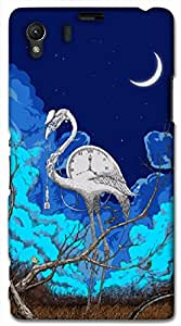 Beautiful 3D multicolor printed protective REBEL mobile back cover for Sony Xperia Z1 C6902/L39h - D.No-DEZ-1074-s39