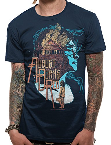 CID August Burns Red-Housefire, T-Shirts Uomo, Blue, Small
