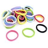 Scheda dettagliata Elastici di plastica per capelli colori assortiti (40 pezzi)