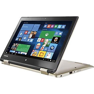 "Toshiba Radius 2016 Newest Edition 11.6"" HD LED-backlit TruBrite 2-in-1 Touchscreen Convertible Laptop 