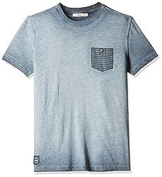 Fox Boys' T-Shirt (Grey_4 Y_337394)