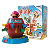 TOMY POP UP PIRATE ORIGINAL CLASSIC GAME OF CHILDRENS KIDS GAME TOY AGE 4+