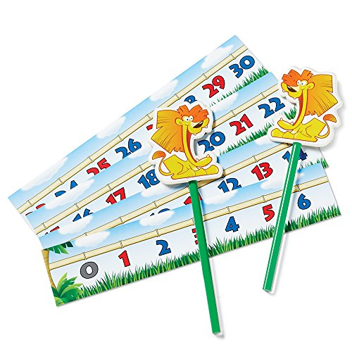 Learning Resources Number Lions A Magnetic Classroom Game - 1