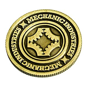 MMS Half Dollar Coin (Bronze) by Mechanic Industries - Trick