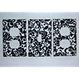 Damask Scroll Switchplate /Oulet Cover