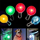Pendant LED Safety Night Light for Pet Puppy Dog Cat Collar (Blue)