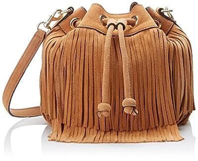 Rebecca Minkoff Fringe Mini Fiona Bucket Cross-Body Bag
