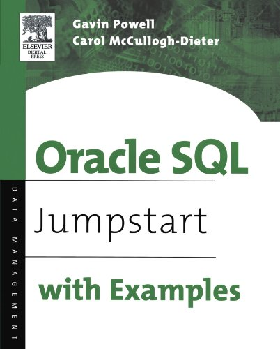 Oracle SQL: Jumpstart with Examples