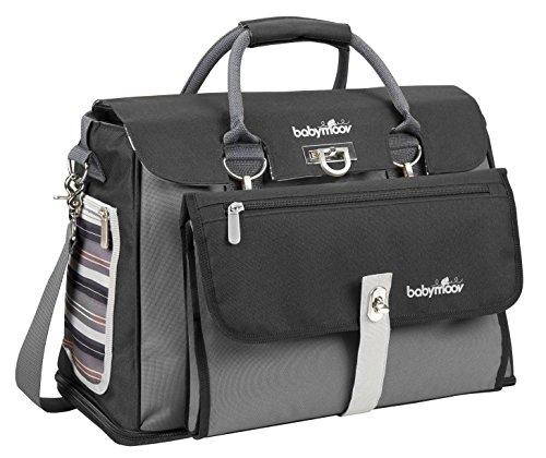 Babymoov Maternity Bag Free Hand (Black/ Grey) front-802421