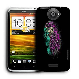 Snoogg Monster Man Designer Protective Back Case Cover For HTC ONE X