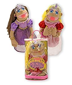 Melissa Doug Make Your Own Princess Puppet by Melissa and Doug