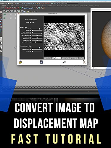Create Displacement Map Tutorial With Crazy Bump For Maya, 3dsmax, Cinema 4D