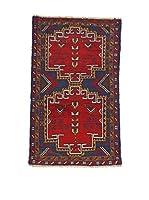 L'Eden del Tappeto Alfombra Beluchistan Rojo / Multicolor 93 x 148 cm