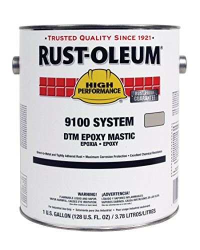 High Performance Epoxy : Rust oleum navy gray high performance v system
