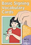 Signing Vocabulary Cards Primer