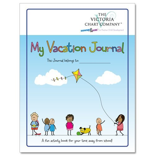 Kid's Travel Journal, My Vacation Journal (4yrs+) - Lightweight Children's Travel Journal to Document Memories While on Vacation