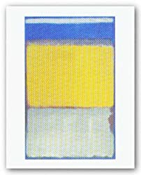 Number 10, 1950 by Mark Rothko 12&quot;x7.5&quot; Art Print Poster