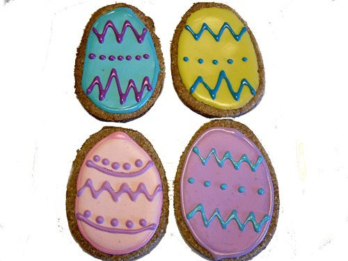 Decorated Easter Eggs Gourmet Dog Treats - 6 Eggs