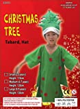 Christmas Tree Costume : Childs : Nativity : Age 8 - 9 Yrs