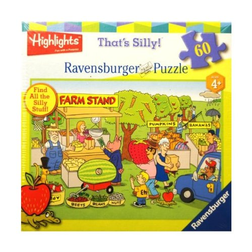 Ravensburger Puzzle That's Silly! Farm Stand 60 Pieces Puzzle